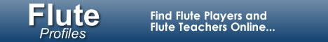 FluteProfiles.com - Find Flutists and Flute Teachers Online
